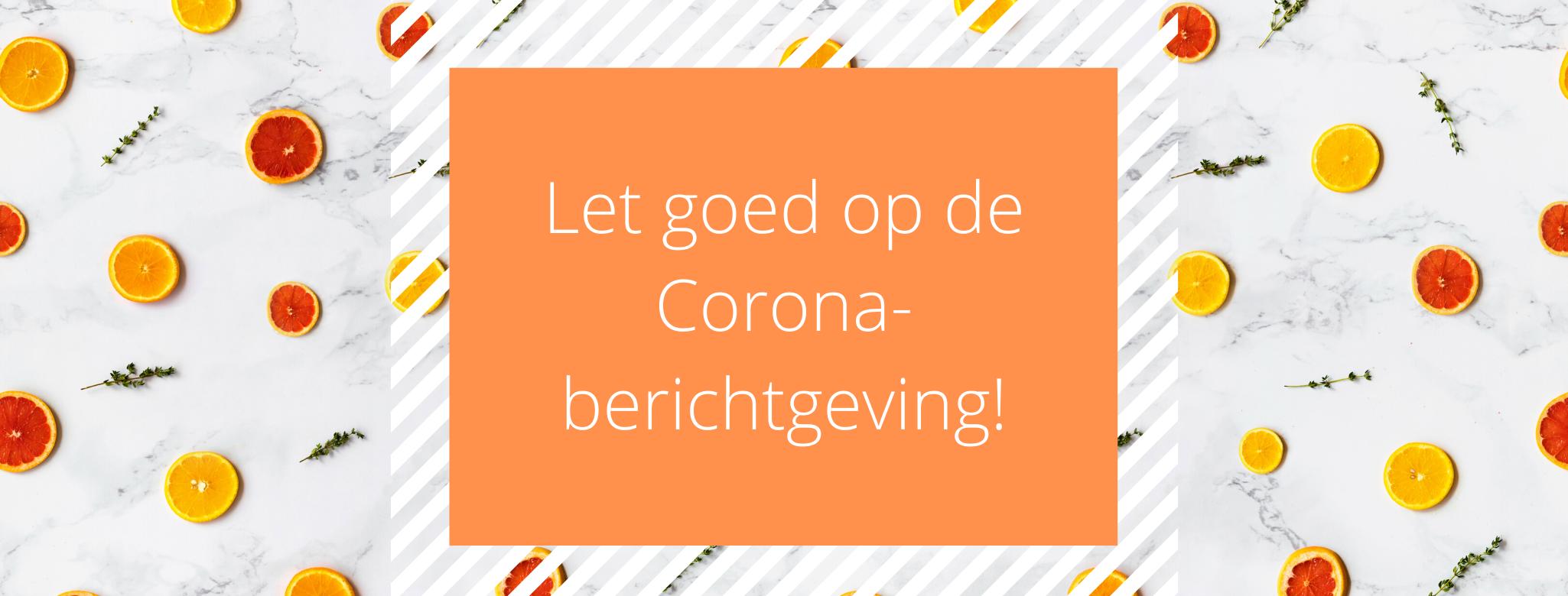 Banner Corona